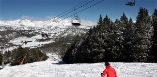 esquí en el Pirineo catalano francés